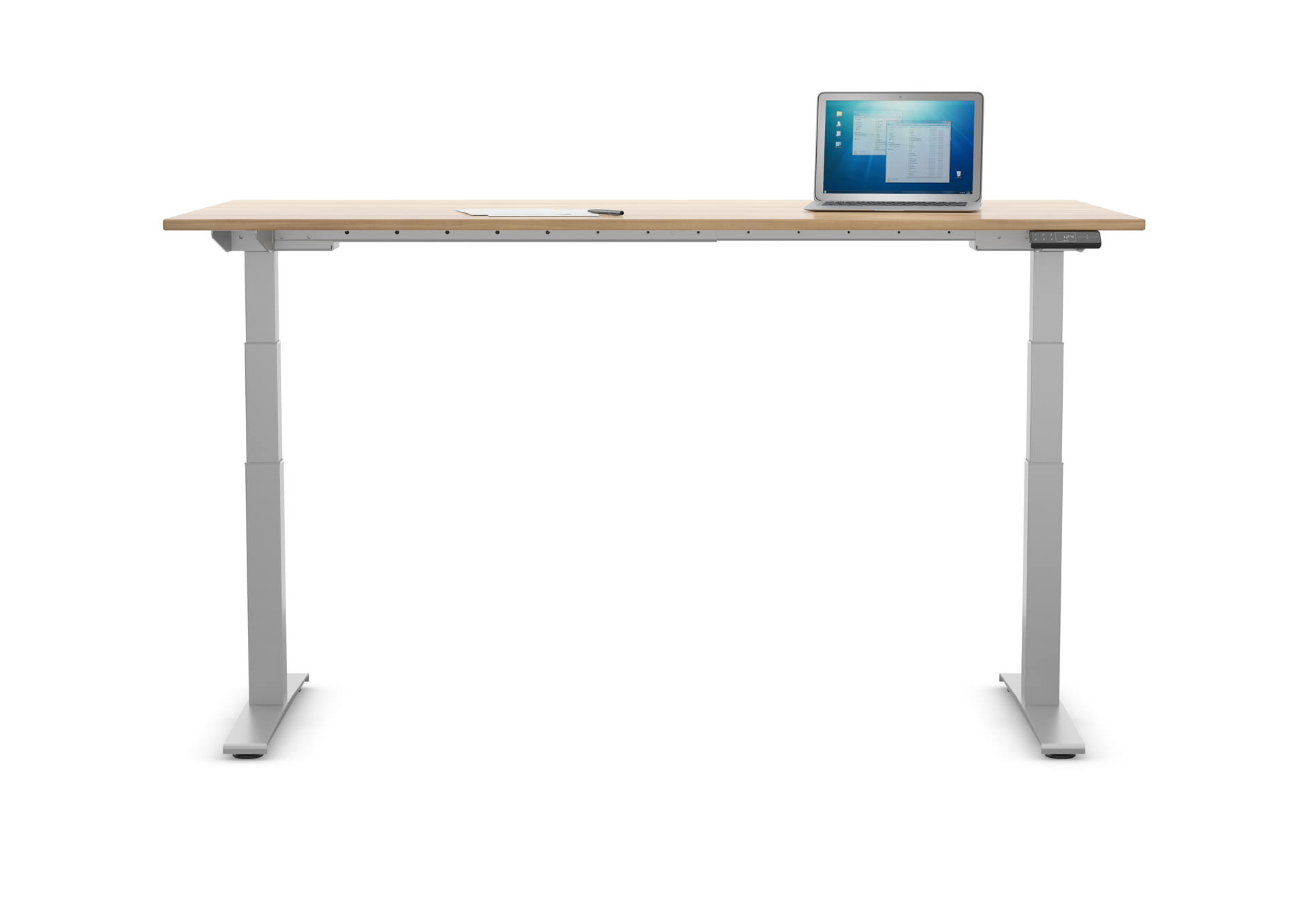Anwendungsbild: Höhenverstellbarer Schreibtisch