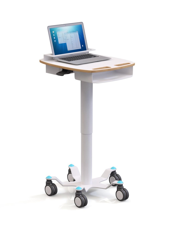 Anwendungsbild: Pneumatische Laptop Carts