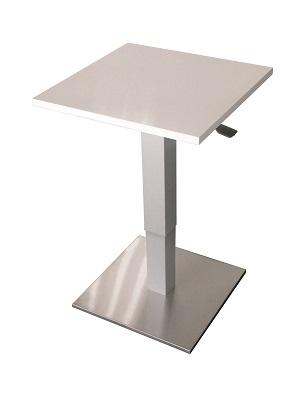 Anwendungsbild: Pneumatische Tischsäule